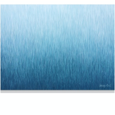 (CreativeWork) SILENT FLOW  122 x 91 cm acrylic on canvas   by George Hall. Acrylic Paint. Shop online at Bluethumb.