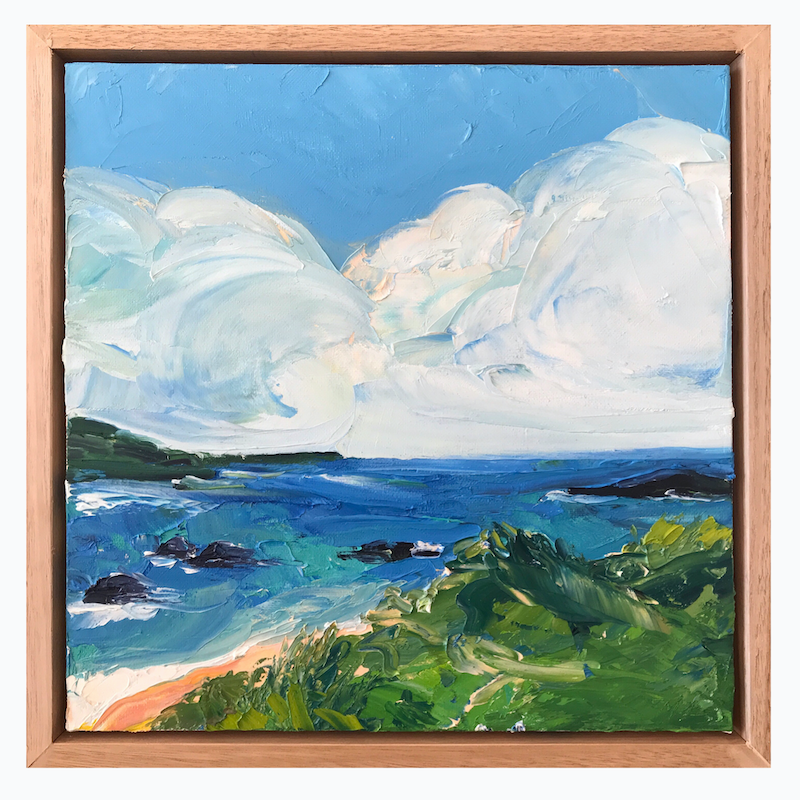 (CreativeWork) As Clouds Form by Marnie McKnight. Oil Paint. Shop online at Bluethumb.