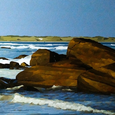 (CreativeWork) Augusta   by Colin Madgwick. Oil Paint. Shop online at Bluethumb.