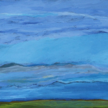 (CreativeWork) Morning Glory #1132 - 19 by Elsie Gabori. Acrylic Paint. Shop online at Bluethumb.