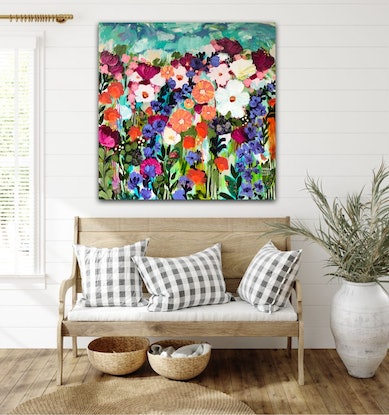 (CreativeWork) After the Storm  by Sandra Oost. Mixed Media. Shop online at Bluethumb.