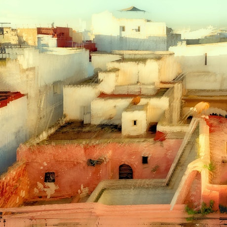 (CreativeWork) Window View Rabat Ed. 2 of 50 by Shirley Steel. Photograph. Shop online at Bluethumb.