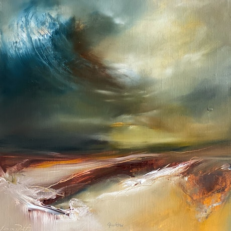 (CreativeWork) Moving On by Joanne Duffy. Oil Paint. Shop online at Bluethumb.