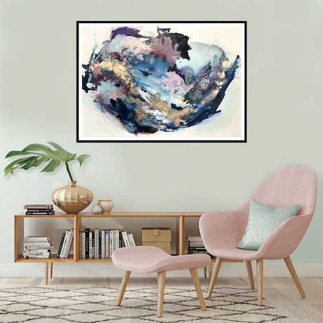 (CreativeWork) Inner World  by Michelle Drougas. Mixed Media. Shop online at Bluethumb.