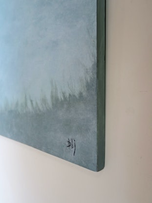 (CreativeWork) Softly Comes The Day by Barry Johnson. Acrylic Paint. Shop online at Bluethumb.
