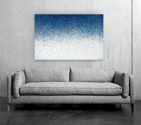 (CreativeWork) The Tide by George Hall. Acrylic Paint. Shop online at Bluethumb.