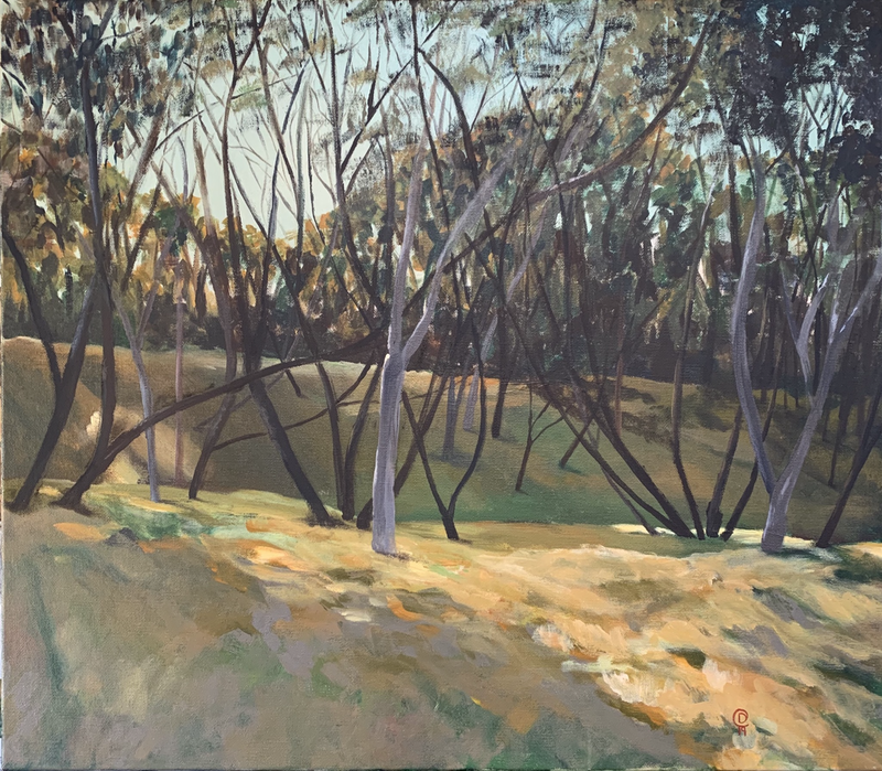(CreativeWork) Afternoon Light by Dylan Cooper. Acrylic Paint. Shop online at Bluethumb.