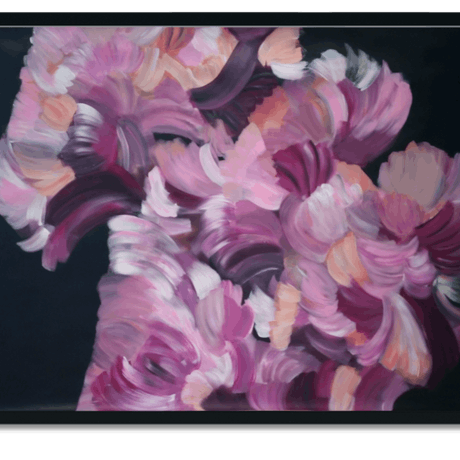 (CreativeWork) Romantic Floral by Ilanit Pocock (Vanu). Acrylic Paint. Shop online at Bluethumb.