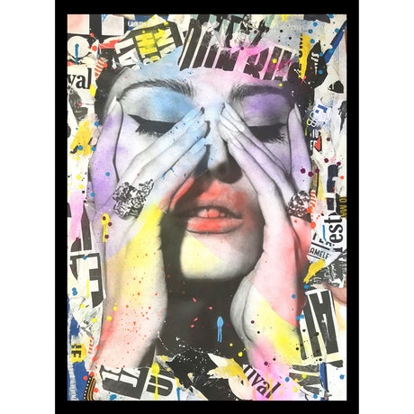 (CreativeWork) STREET ICON 208 by Cold Ghost. Mixed Media. Shop online at Bluethumb.