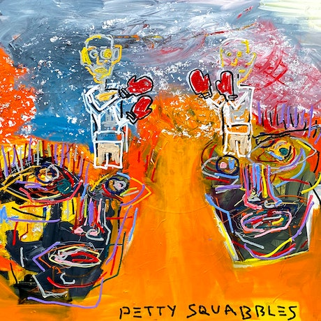 (CreativeWork) Petty Squabbles by Cameron Holmes. Mixed Media. Shop online at Bluethumb.