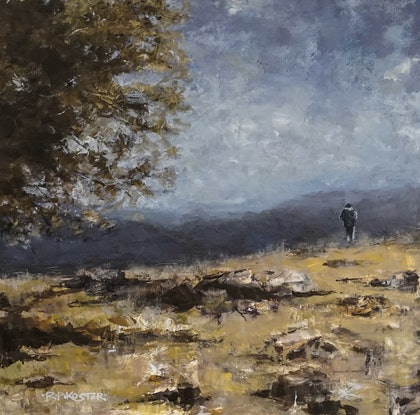 (CreativeWork) A Quiet Moment by R.P. Koster. Acrylic Paint. Shop online at Bluethumb.