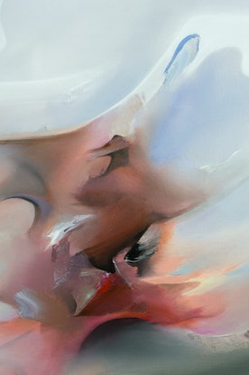 (CreativeWork) An Infinte Ending by Ella Baudinet. Oil Paint. Shop online at Bluethumb.