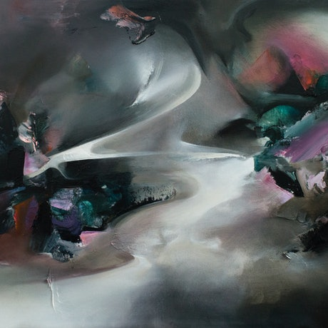 (CreativeWork) Uncharted by Ella Baudinet. Oil Paint. Shop online at Bluethumb.