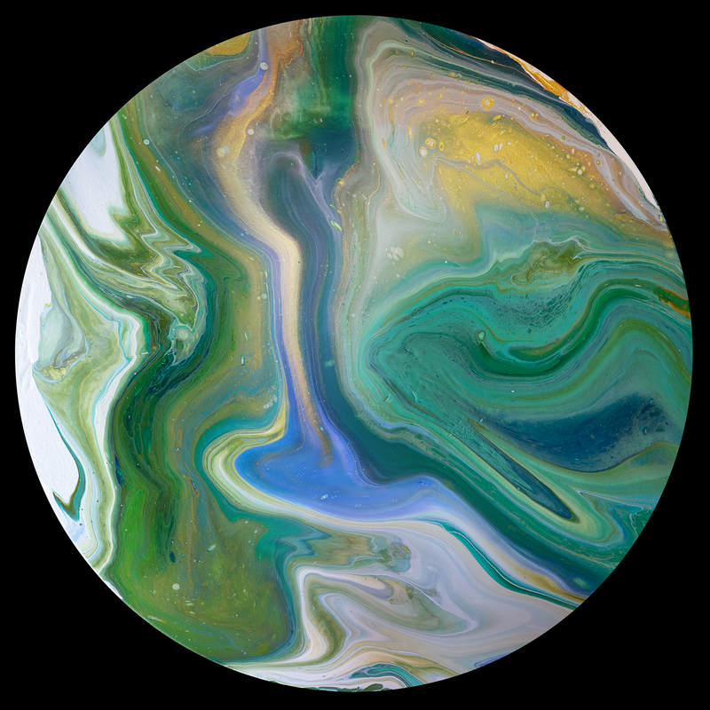 (CreativeWork) Tranquil Tides by Brigitte Ackland. Acrylic Paint. Shop online at Bluethumb.