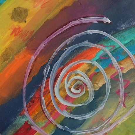 (CreativeWork) Abstract 1 by Nicole Whittaker. Mixed Media. Shop online at Bluethumb.
