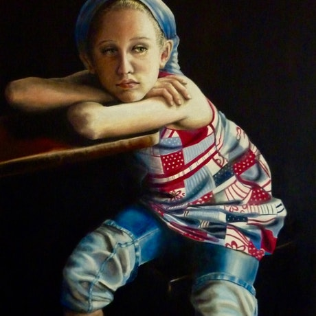 (CreativeWork) In Retrospect by Cathy Yarwood - Mahy. Oil Paint. Shop online at Bluethumb.