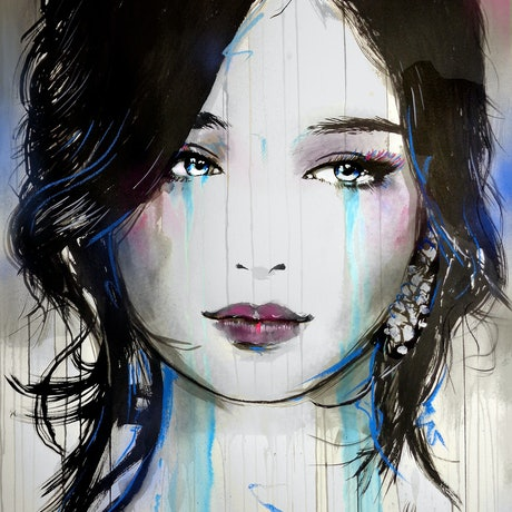 (CreativeWork) ASIA by loui jover. Mixed Media. Shop online at Bluethumb.