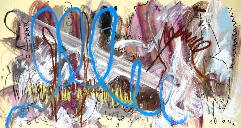 (CreativeWork) Direction of Ambition  by Shane Bowden. Acrylic Paint. Shop online at Bluethumb.