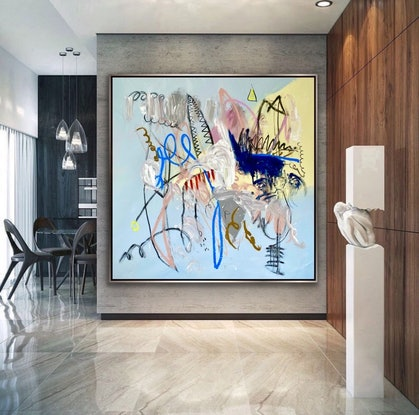 (CreativeWork) Imagination of Dreams  by Shane Bowden. Acrylic Paint. Shop online at Bluethumb.