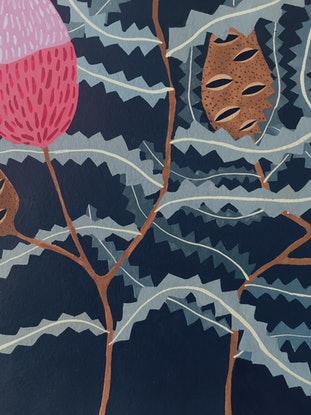 (CreativeWork) Banksia by Chloe Papastavrou. Other Media. Shop online at Bluethumb.
