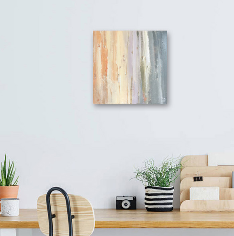 (CreativeWork) Burnside - Colour of gums Australiana by Mike Barr. Acrylic Paint. Shop online at Bluethumb.