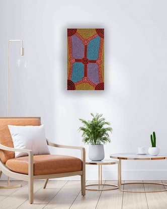 (CreativeWork) Imanpa 18-1906 by Mavis Staines. Acrylic Paint. Shop online at Bluethumb.