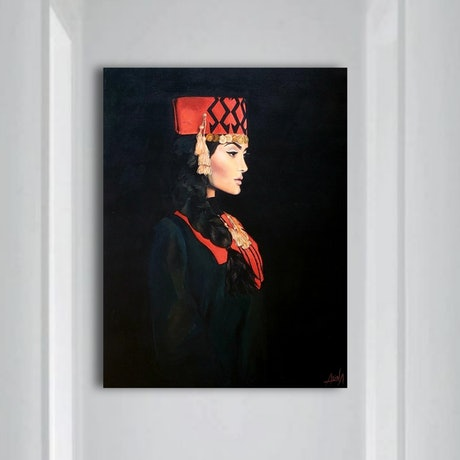(CreativeWork) Armenian pride  by Alina Zorkina. Acrylic Paint. Shop online at Bluethumb.