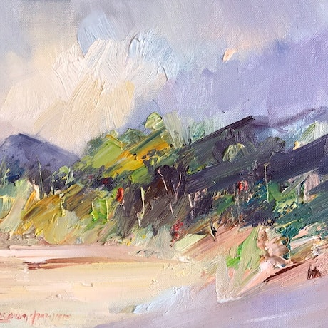 (CreativeWork) Wilsons Prom No 6 by Liliana Gigovic. Oil Paint. Shop online at Bluethumb.