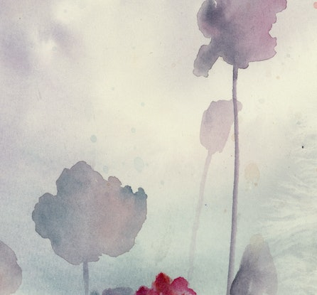 (CreativeWork) Shadows by Cecilia Xiao. Watercolour Paint. Shop online at Bluethumb.