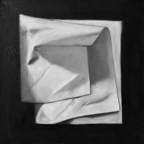 (CreativeWork) The Fifth Tissue by Alanna Valera. Oil Paint. Shop online at Bluethumb.
