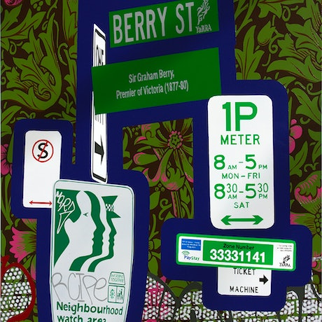 (CreativeWork) The tastiest berries are often hidden by Jo Ryan. Mixed Media. Shop online at Bluethumb.