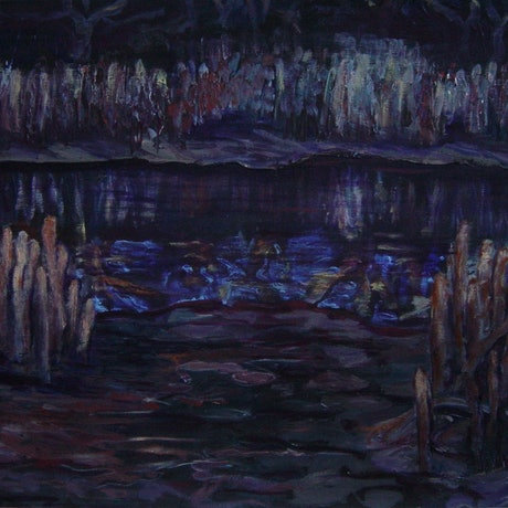 (CreativeWork) Mangroves, Bowen by Catherine Stringer. Acrylic Paint. Shop online at Bluethumb.