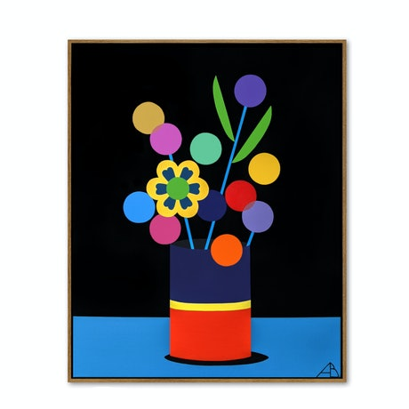 (CreativeWork) Still Life No.56 by Andria Beighton. Acrylic Paint. Shop online at Bluethumb.