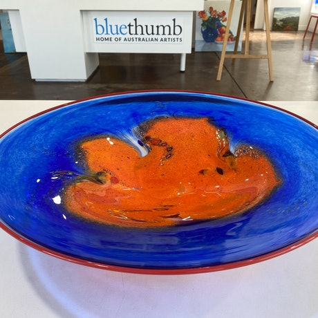 (CreativeWork) Glass Bowl (Large) - Outback Range  by Eamonn Vereker. Other Media. Shop online at Bluethumb.