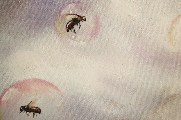 (CreativeWork) Obedience by Vanessa Stefanova. Oil Paint. Shop online at Bluethumb.