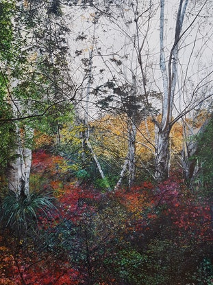 (CreativeWork) The Lost Season by Fae Ballingall. Oil Paint. Shop online at Bluethumb.
