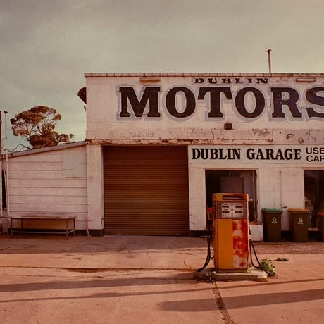 (CreativeWork) Dublin Motors Ed. 1 of 5 by Alex Frayne. Photograph. Shop online at Bluethumb.