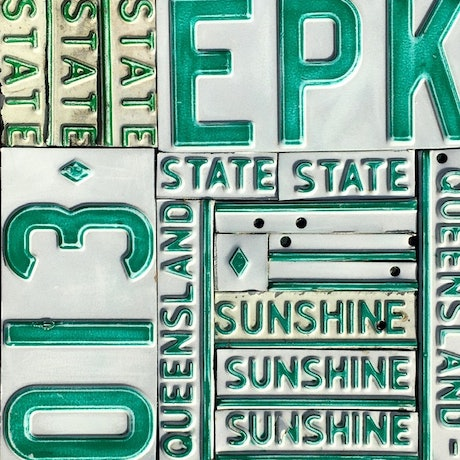 (CreativeWork) sunshine state by Michael Jenkins. Mixed Media. Shop online at Bluethumb.