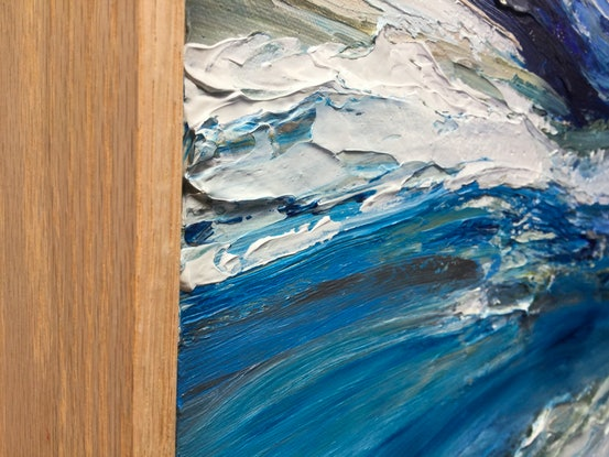 (CreativeWork) Mariner by Katie Wyatt. Acrylic Paint. Shop online at Bluethumb.