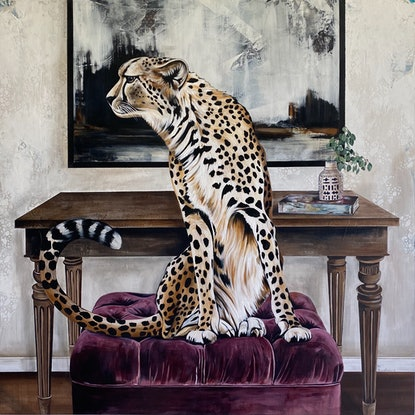 (CreativeWork) Chic Cheetah Print  Ed. 1 of 100 by Bonnie Larden. Print. Shop online at Bluethumb.