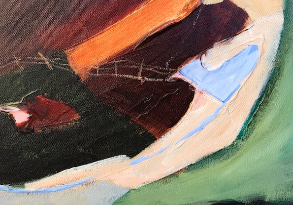 (CreativeWork) Back to the Farm by Meredith Howse. Acrylic Paint. Shop online at Bluethumb.