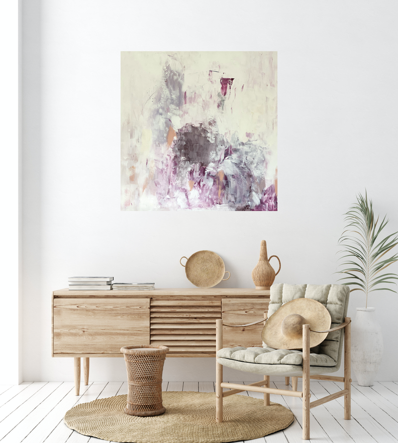 (CreativeWork) Assured  by Michelle Drougas. Acrylic Paint. Shop online at Bluethumb.