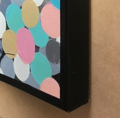 (CreativeWork) Round about by Ron Brown. Acrylic Paint. Shop online at Bluethumb.