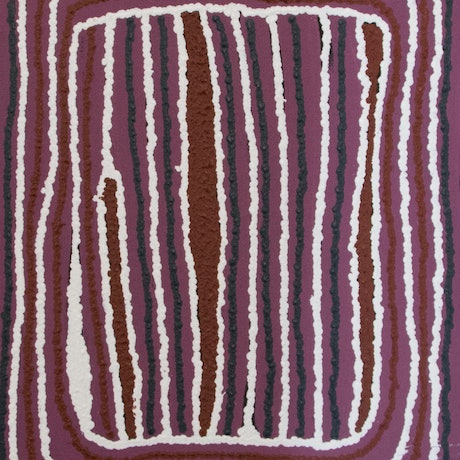 (CreativeWork) Karku 20-93 (A) by Mary Gibson. Acrylic Paint. Shop online at Bluethumb.