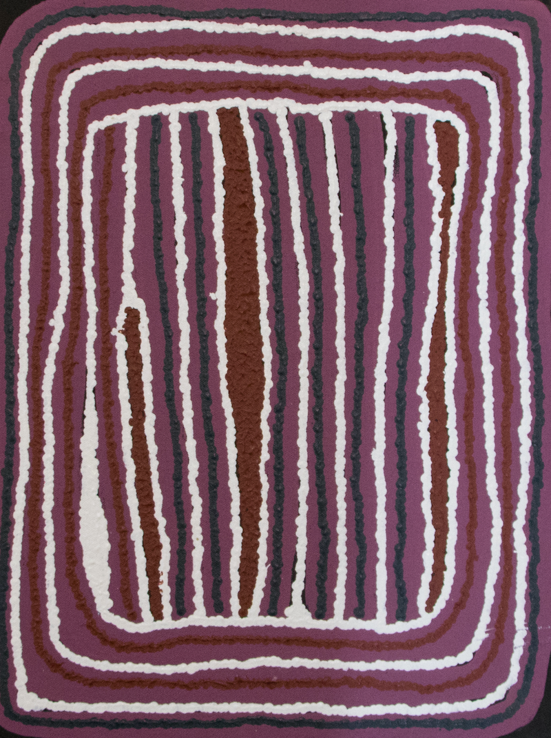 (CreativeWork) Karku 20-93 by Mary Gibson. Acrylic Paint. Shop online at Bluethumb.