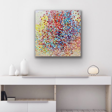 (CreativeWork) Endless Love by Theo Papathomas. Oil Paint. Shop online at Bluethumb.