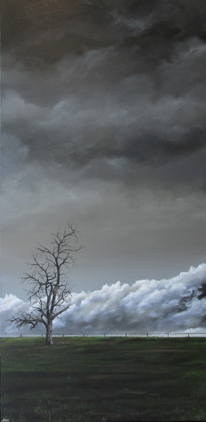 (CreativeWork) Nowhere In Particular by Craig Mackie. Acrylic Paint. Shop online at Bluethumb.