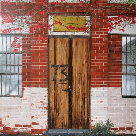 (CreativeWork) Seventy Three by Craig Mackie. Acrylic Paint. Shop online at Bluethumb.