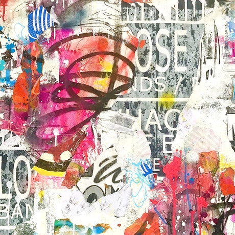 (CreativeWork) Urban Abstract 49 by Cold Ghost. Mixed Media. Shop online at Bluethumb.