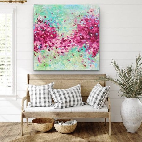 (CreativeWork) A Love That Lasts Forever 3 by Belinda Nadwie. Oil Paint. Shop online at Bluethumb.